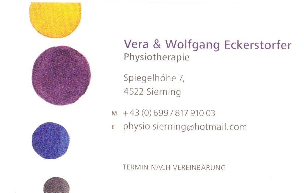 Vera & Wolfgang Eckerstorfer - Physiotherapie
